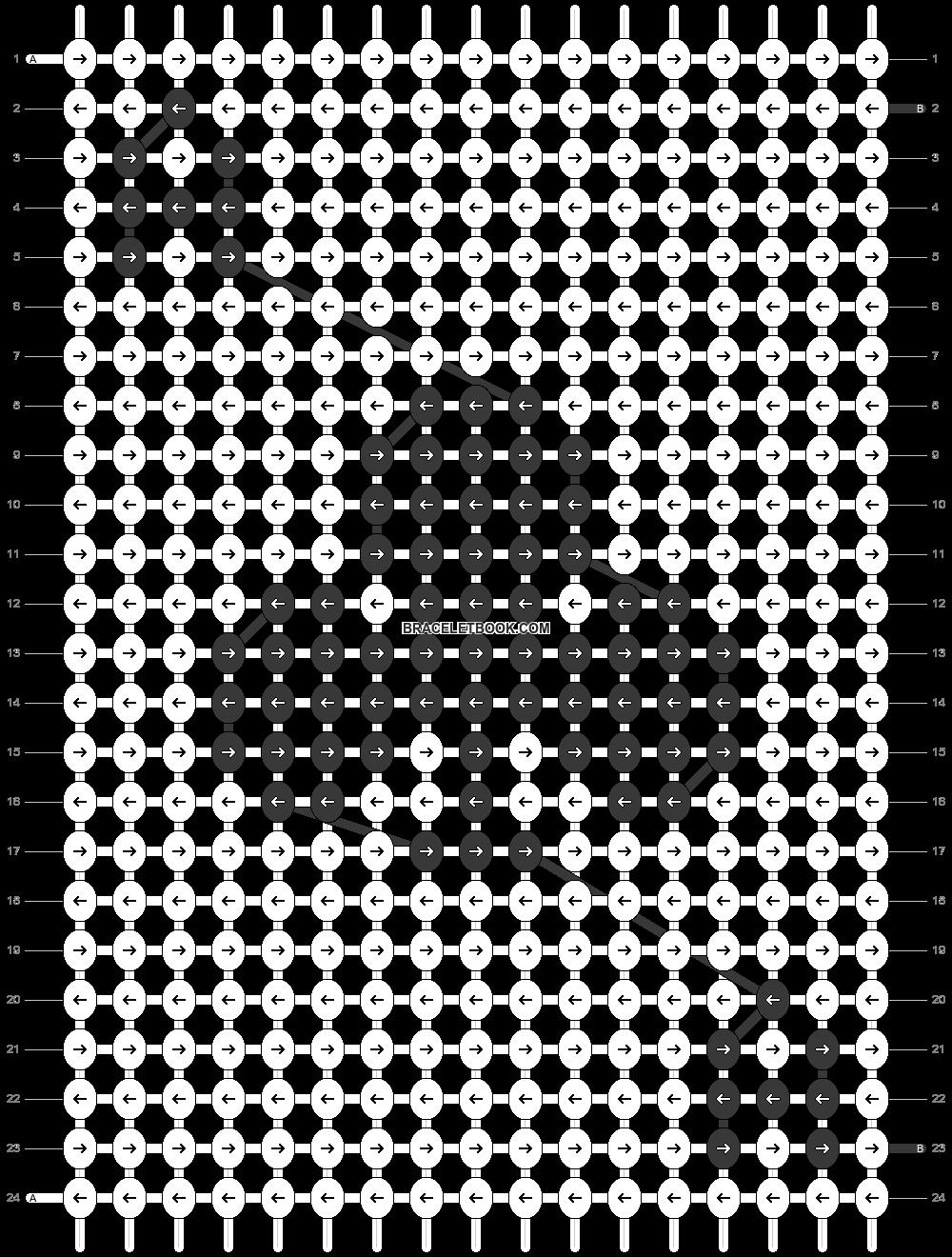 Alpha pattern #50698 pattern