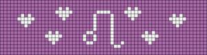 Alpha pattern #50712
