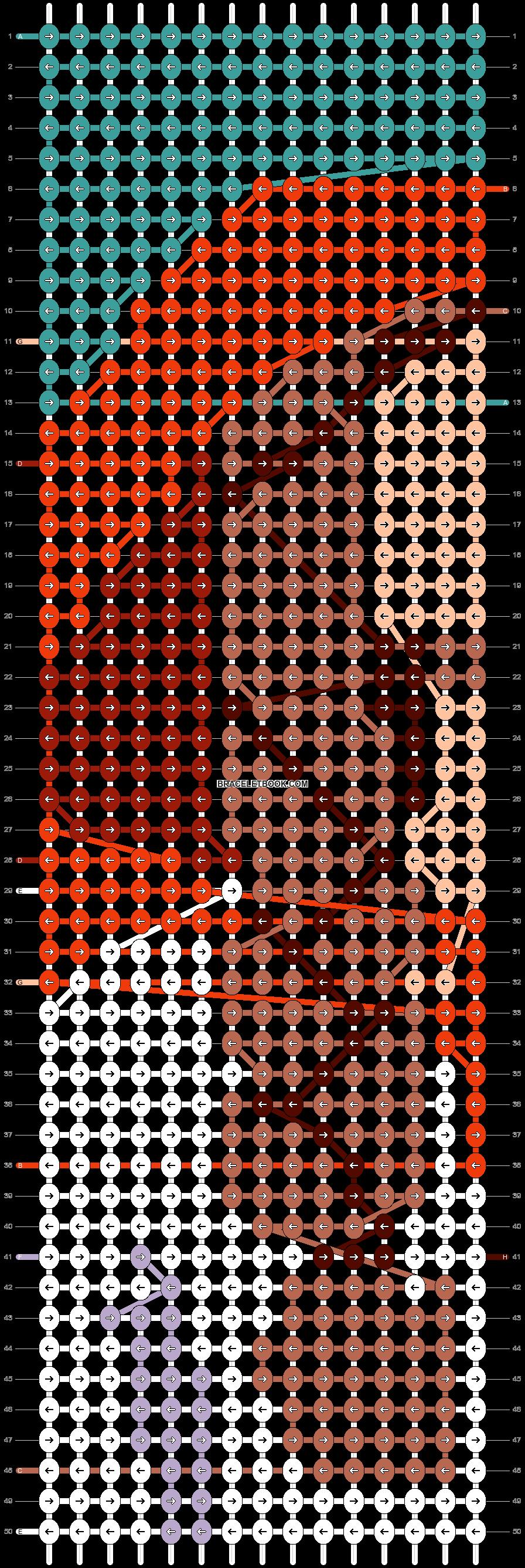 Alpha pattern #50725 pattern