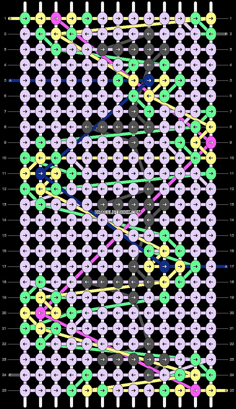 Alpha pattern #50735 pattern