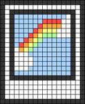Alpha pattern #50743