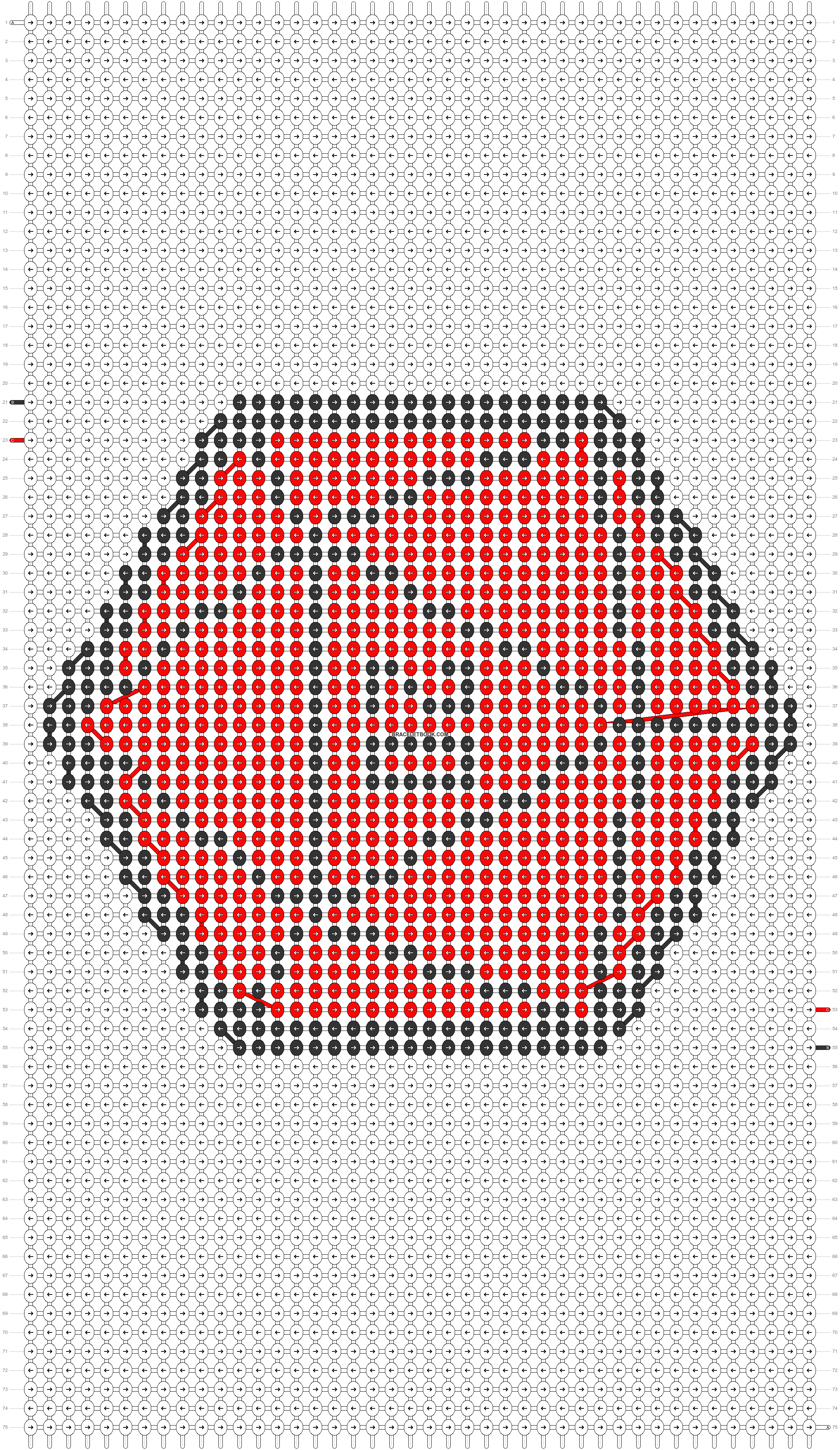 Alpha pattern #50768 pattern