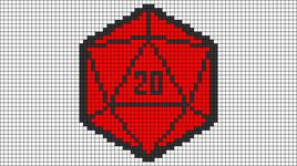 Alpha pattern #50768