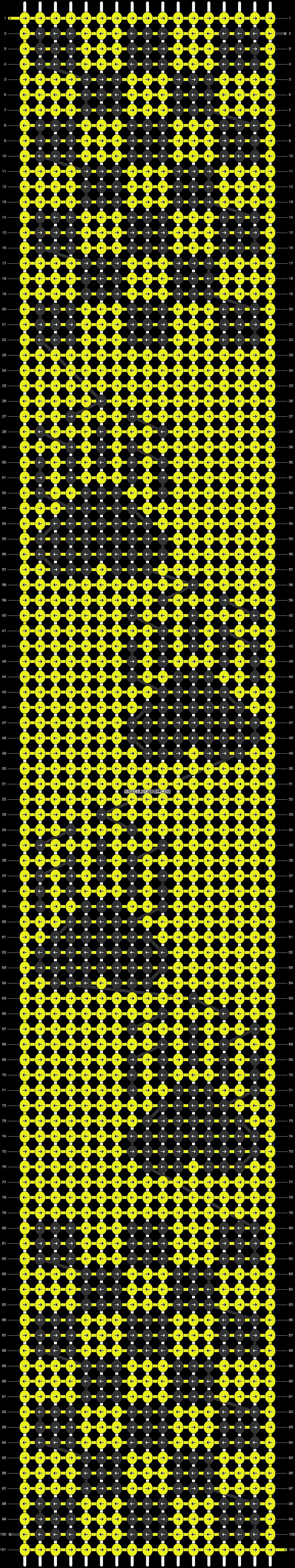 Alpha pattern #50802 pattern