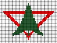 Alpha pattern #50840