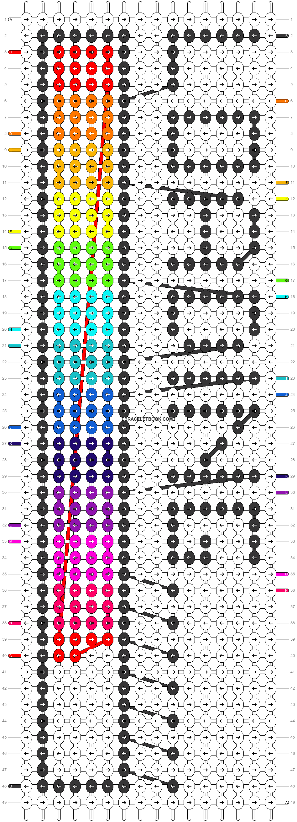 Alpha pattern #50845 pattern