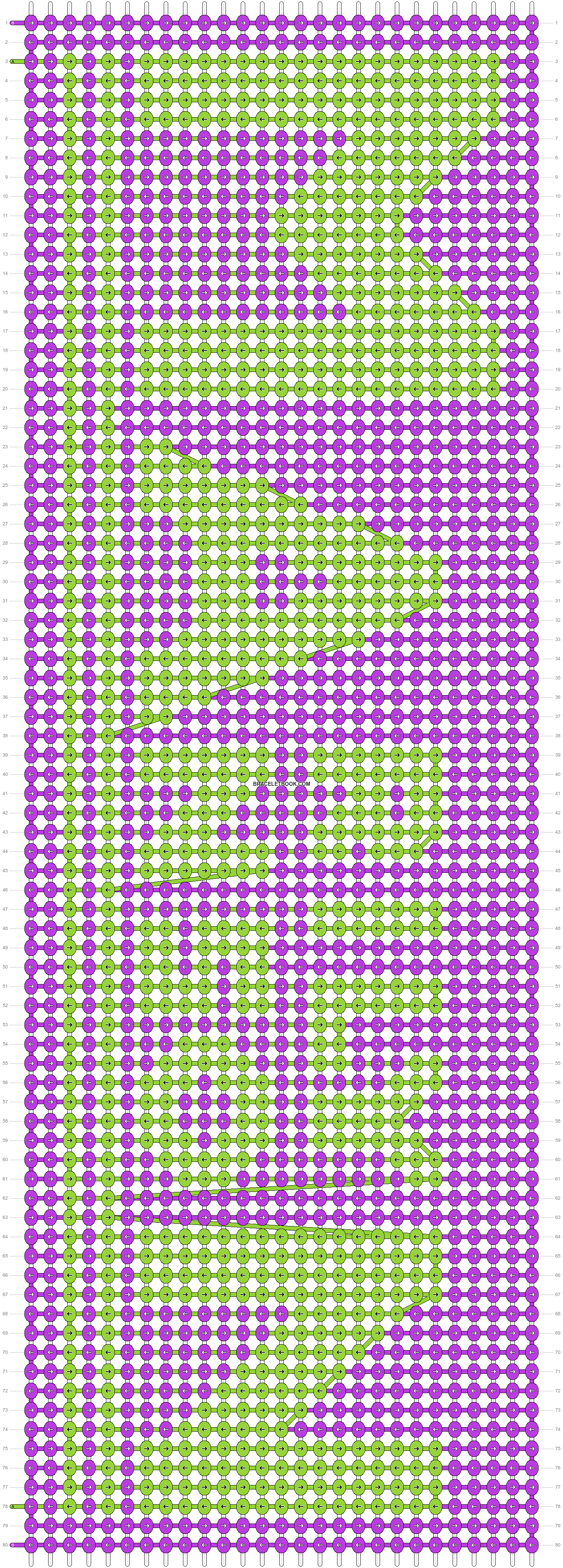 Alpha pattern #50847 pattern