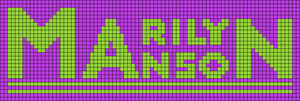 Alpha pattern #50847