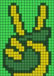 Alpha pattern #50870