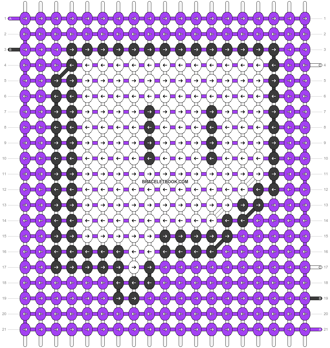 Alpha pattern #50872 pattern