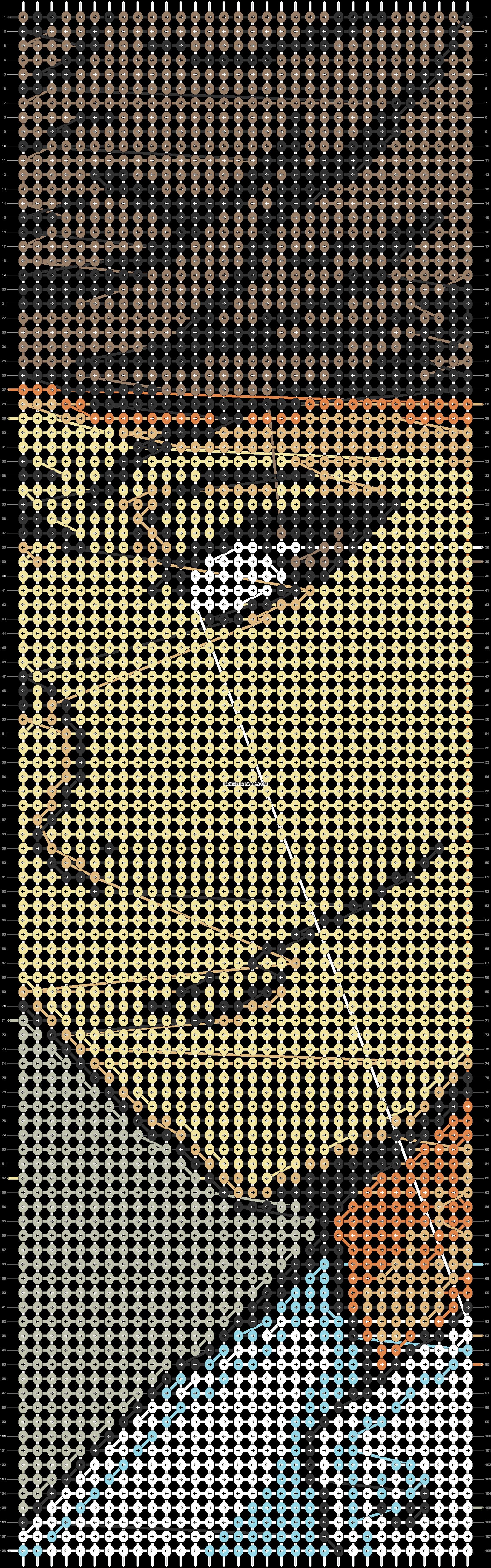 Alpha pattern #50882 pattern