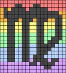 Alpha pattern #50892