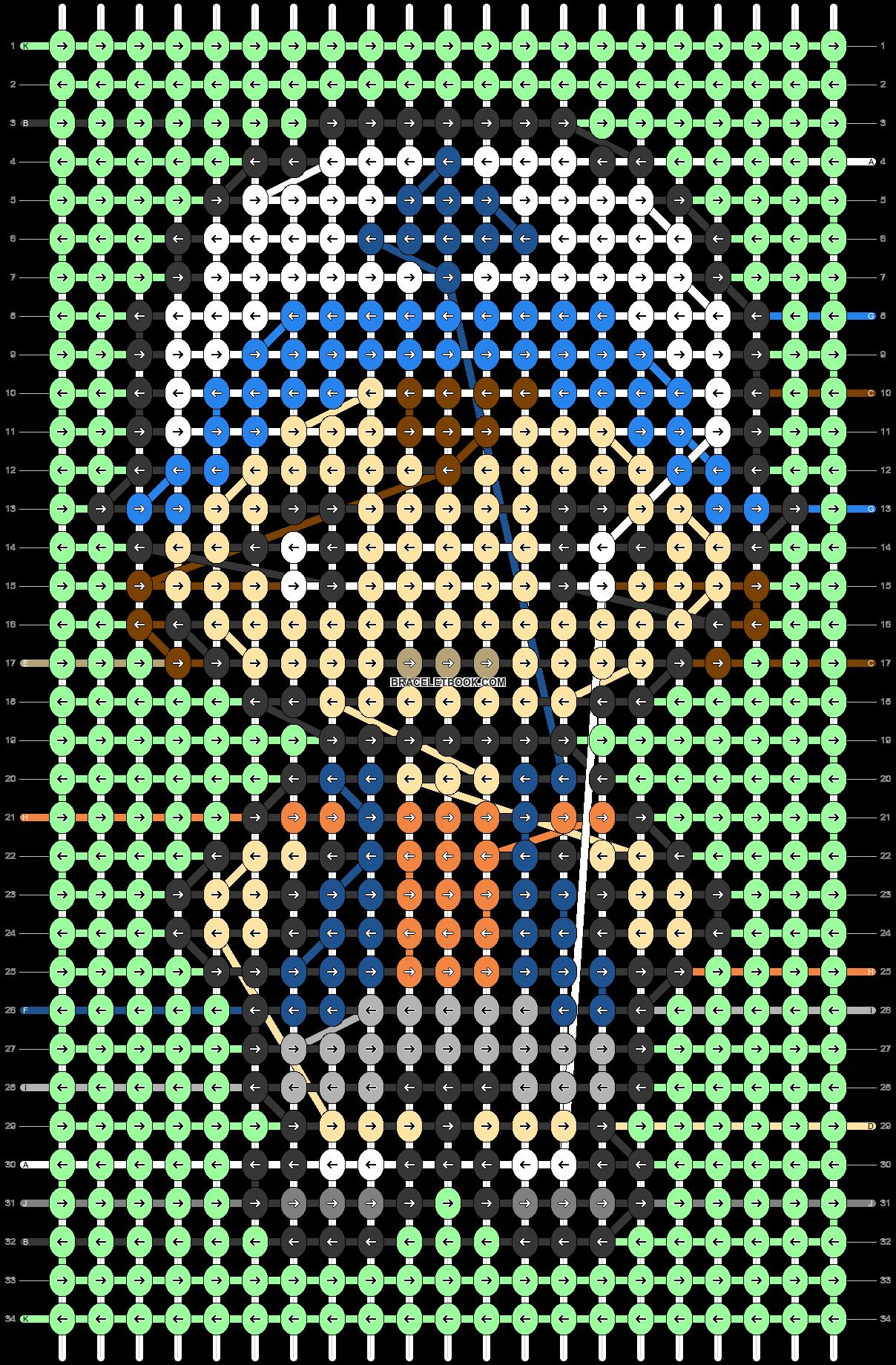 Alpha pattern #50912 pattern