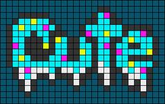 Alpha pattern #50954