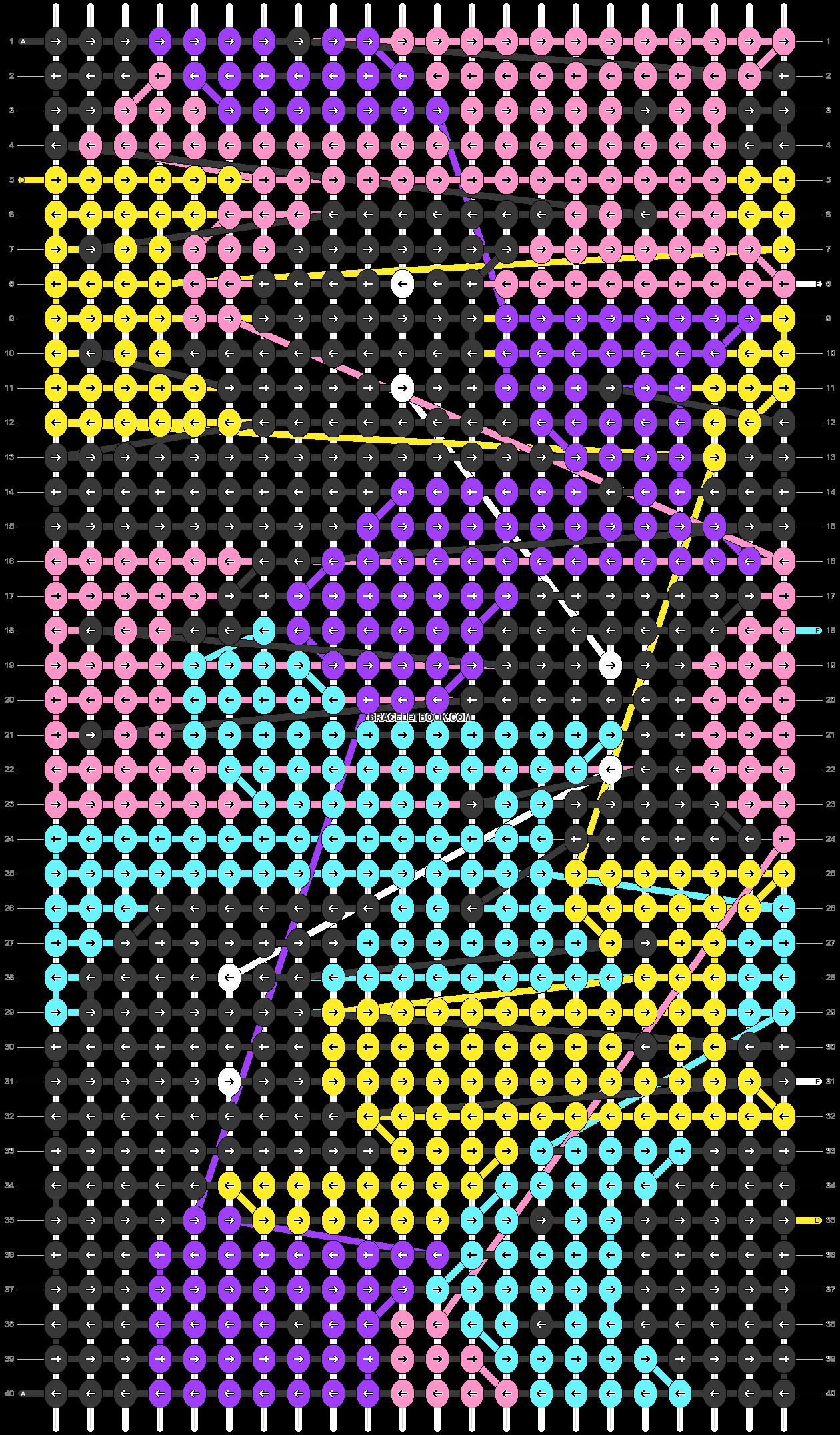 Alpha pattern #50961 pattern