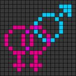 Alpha pattern #50982