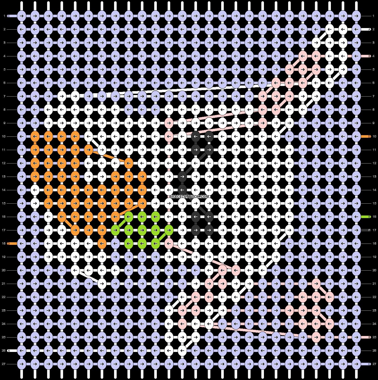 Alpha pattern #50997 pattern
