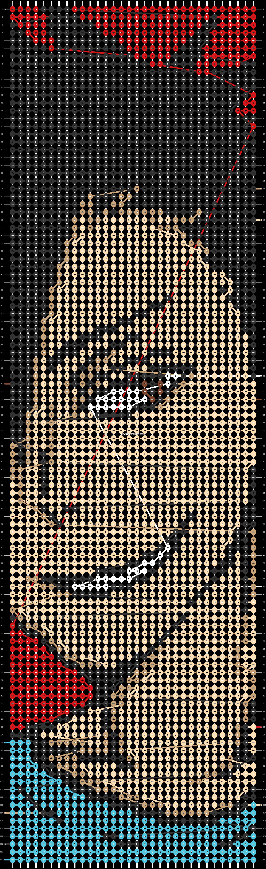 Alpha pattern #51009 pattern