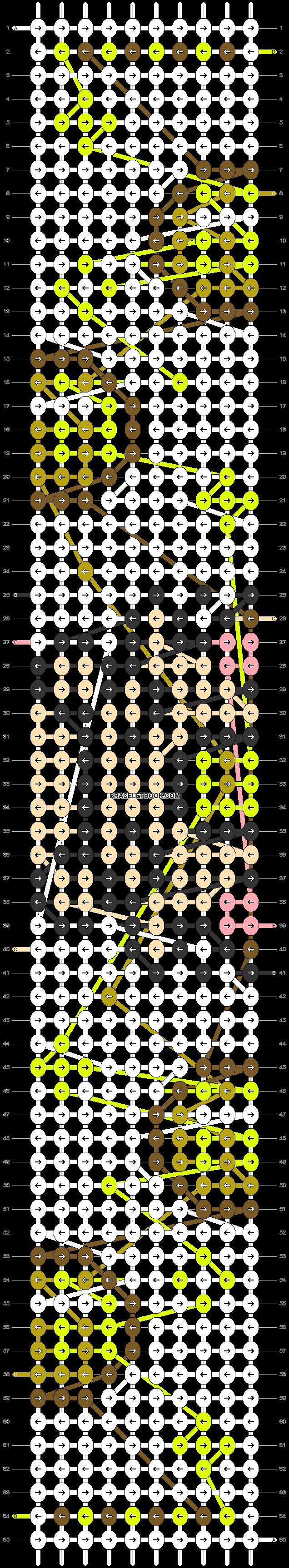 Alpha pattern #51025 pattern