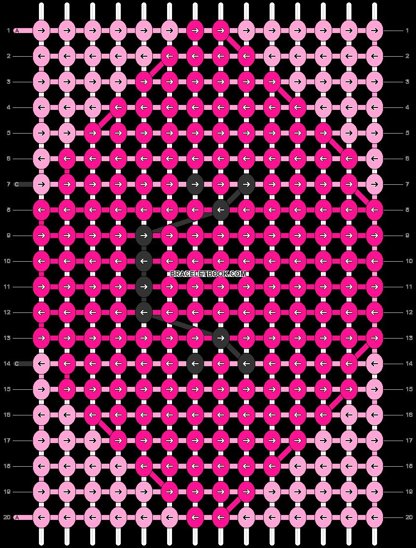 Alpha pattern #51039 pattern