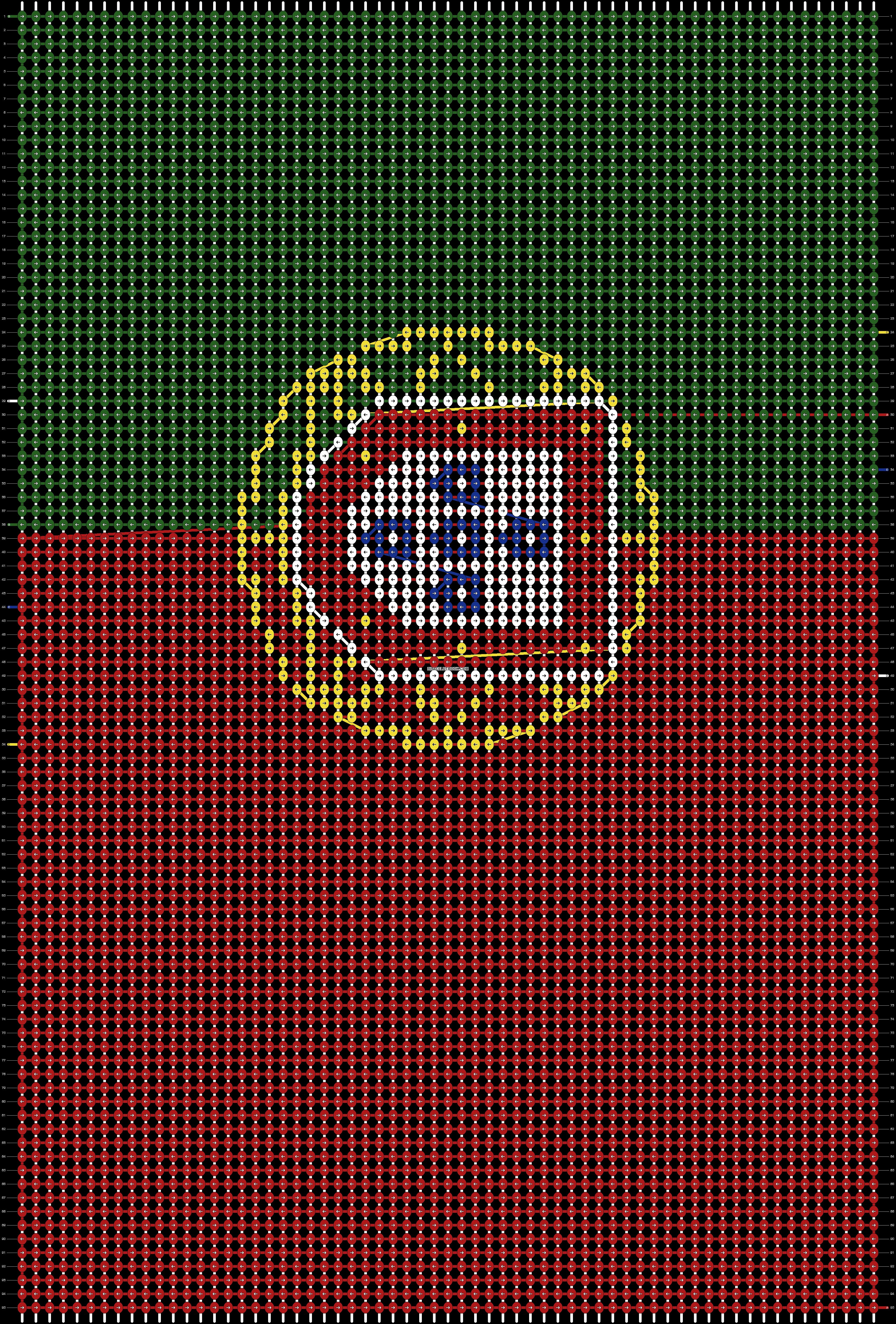 Alpha pattern #51053 pattern