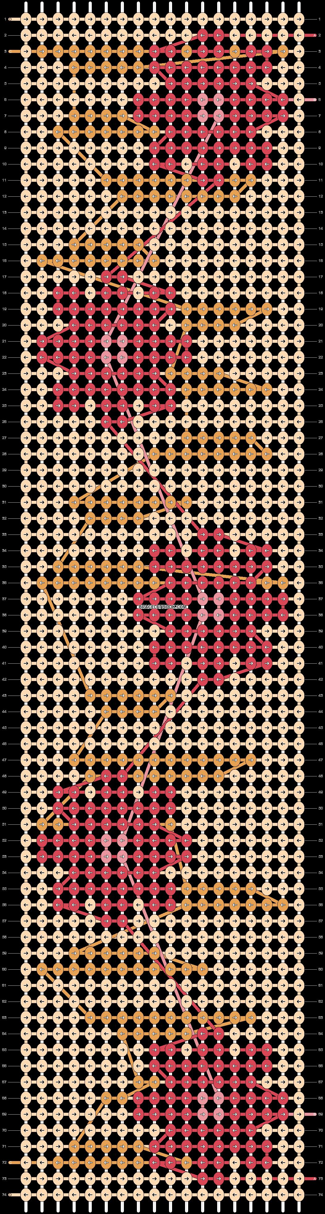 Alpha pattern #51058 pattern