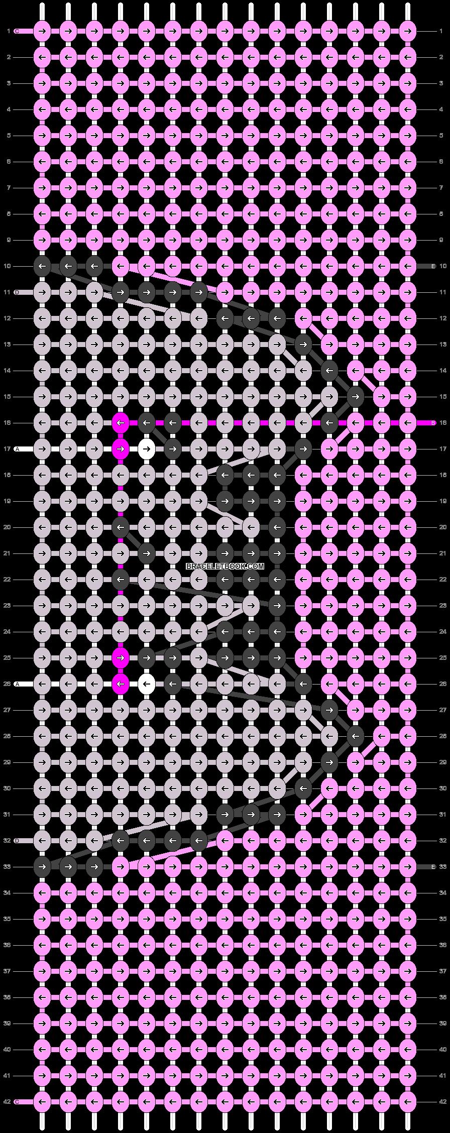Alpha pattern #51081 pattern