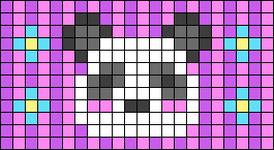 Alpha pattern #51098