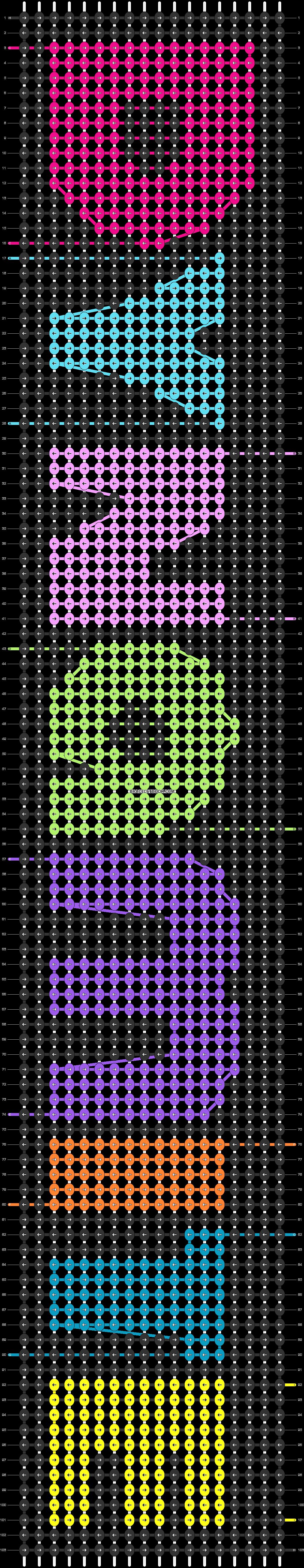 Alpha pattern #51104 pattern
