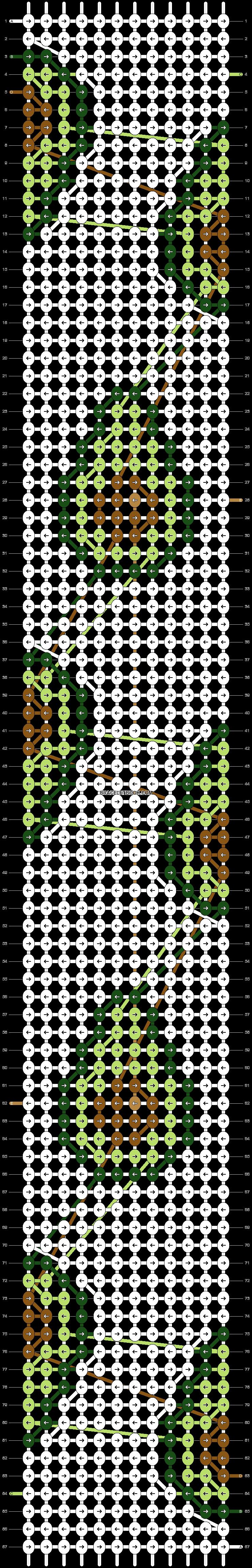 Alpha pattern #51107 pattern