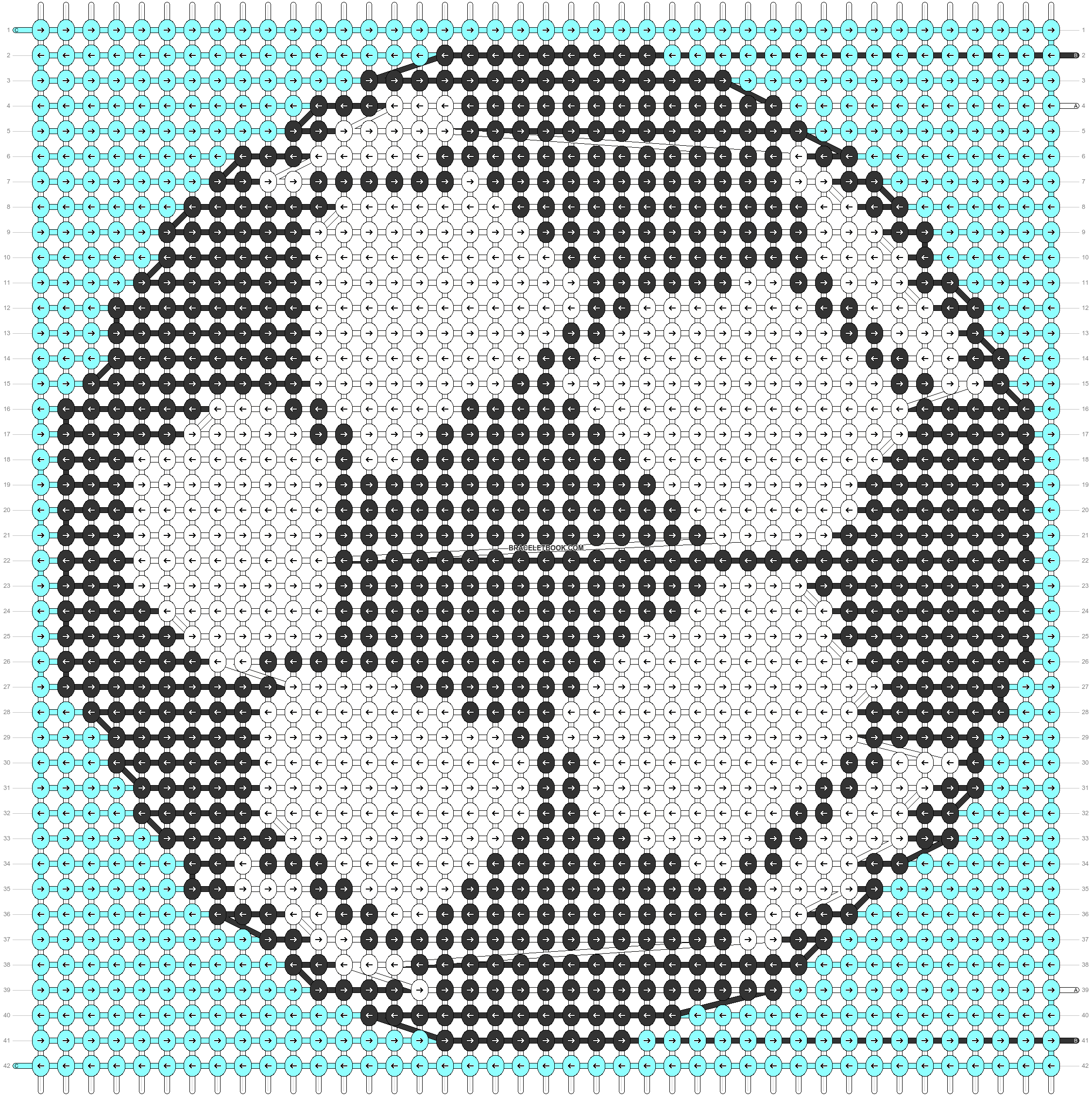 Alpha pattern #51108 pattern