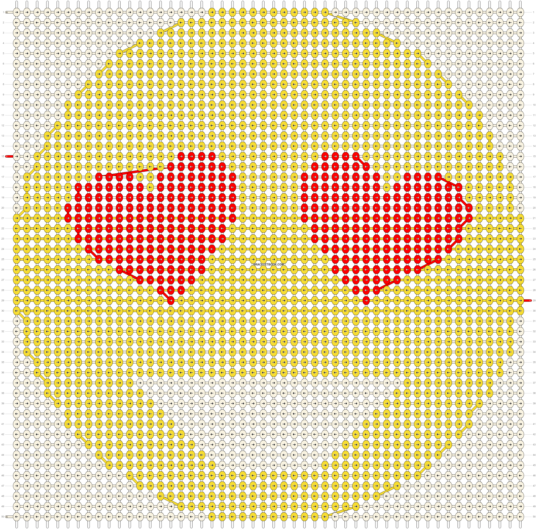Alpha pattern #51113 pattern