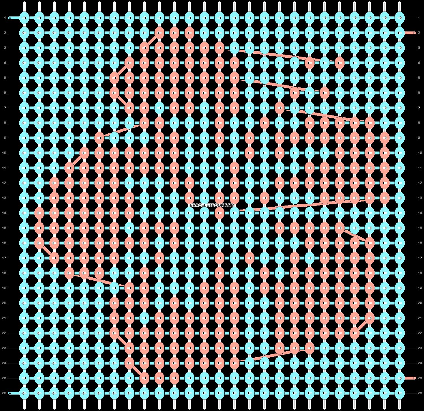 Alpha pattern #51134 pattern