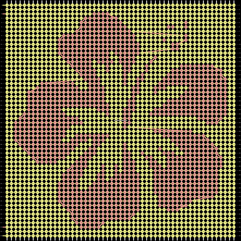 Alpha pattern #51135 pattern
