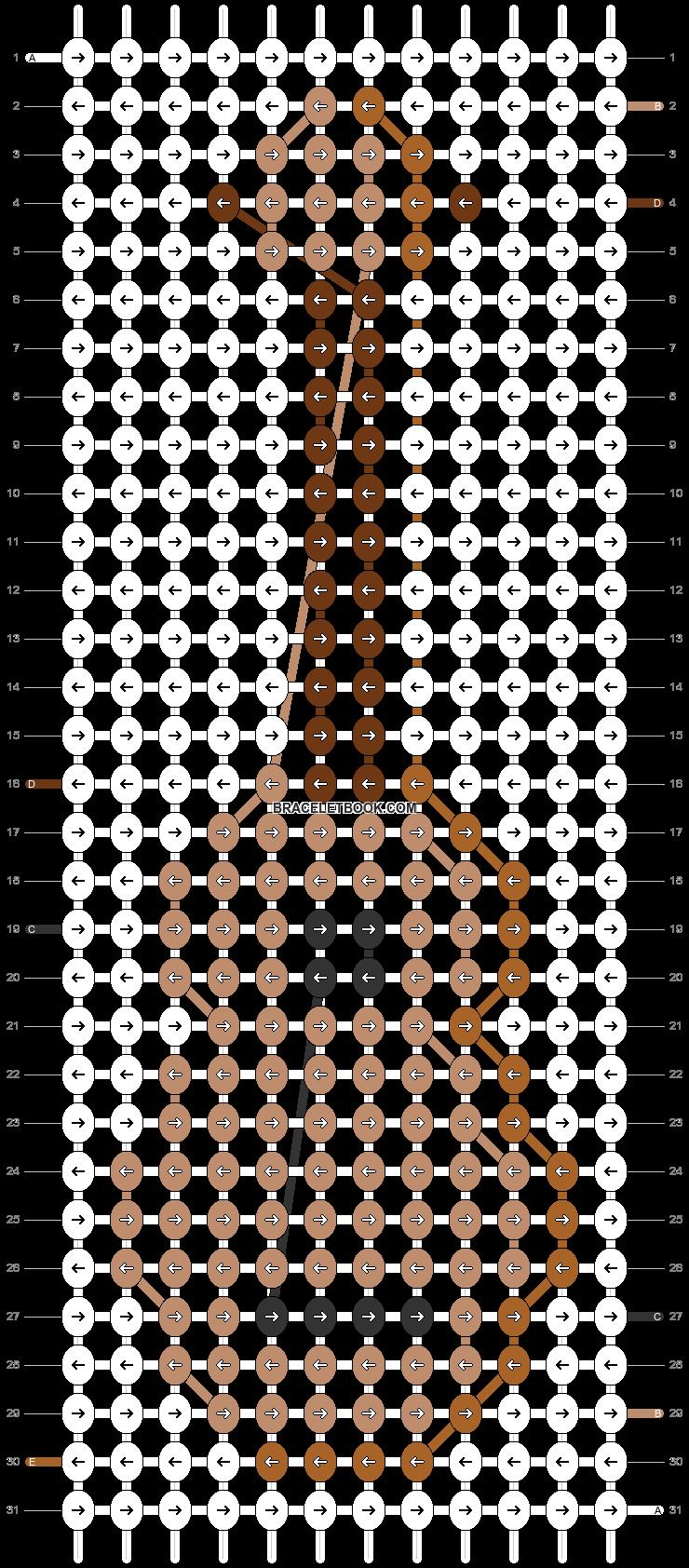 Alpha pattern #51140 pattern