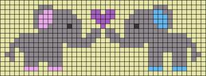 Alpha pattern #51141