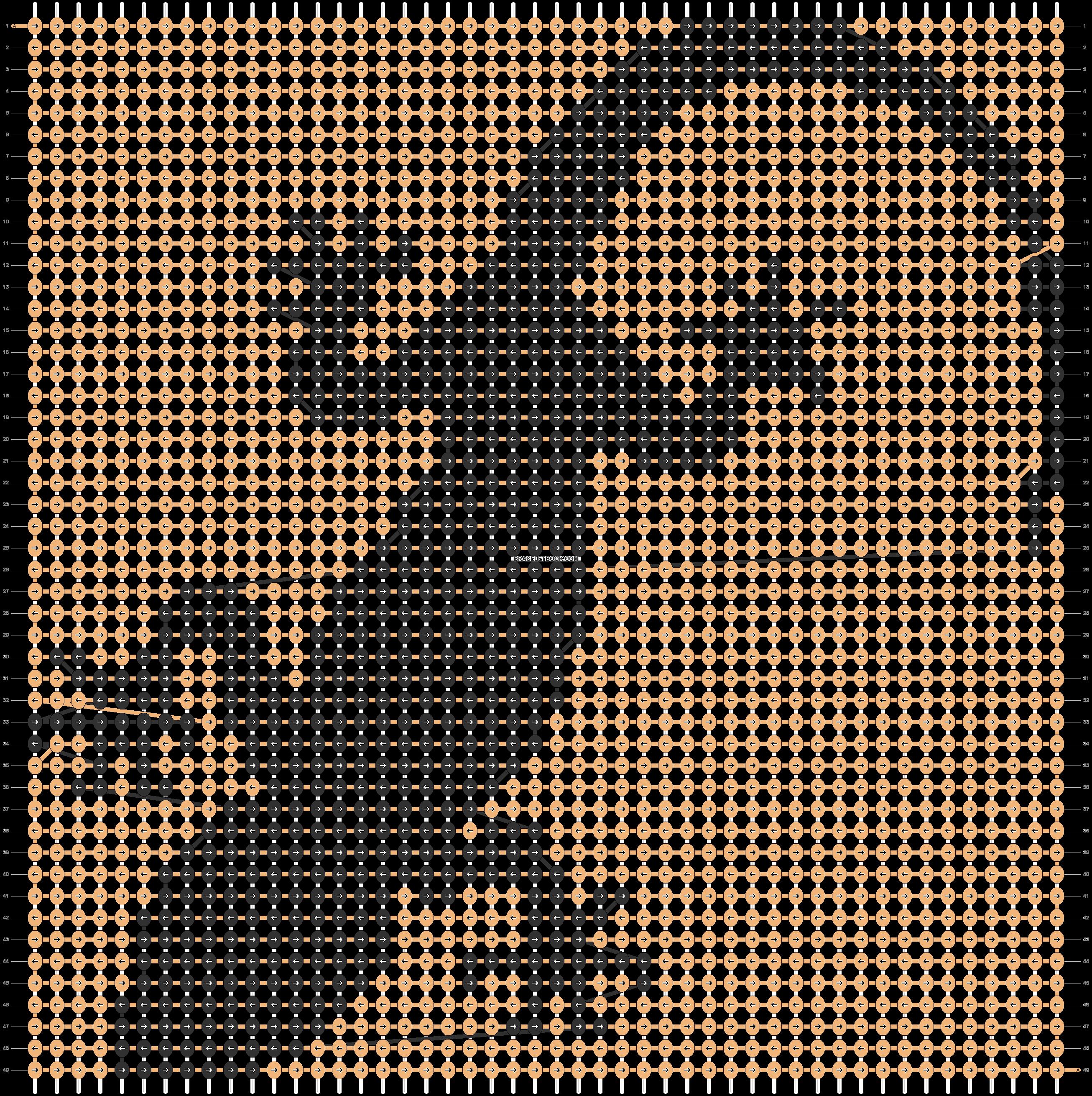 Alpha pattern #51173 pattern