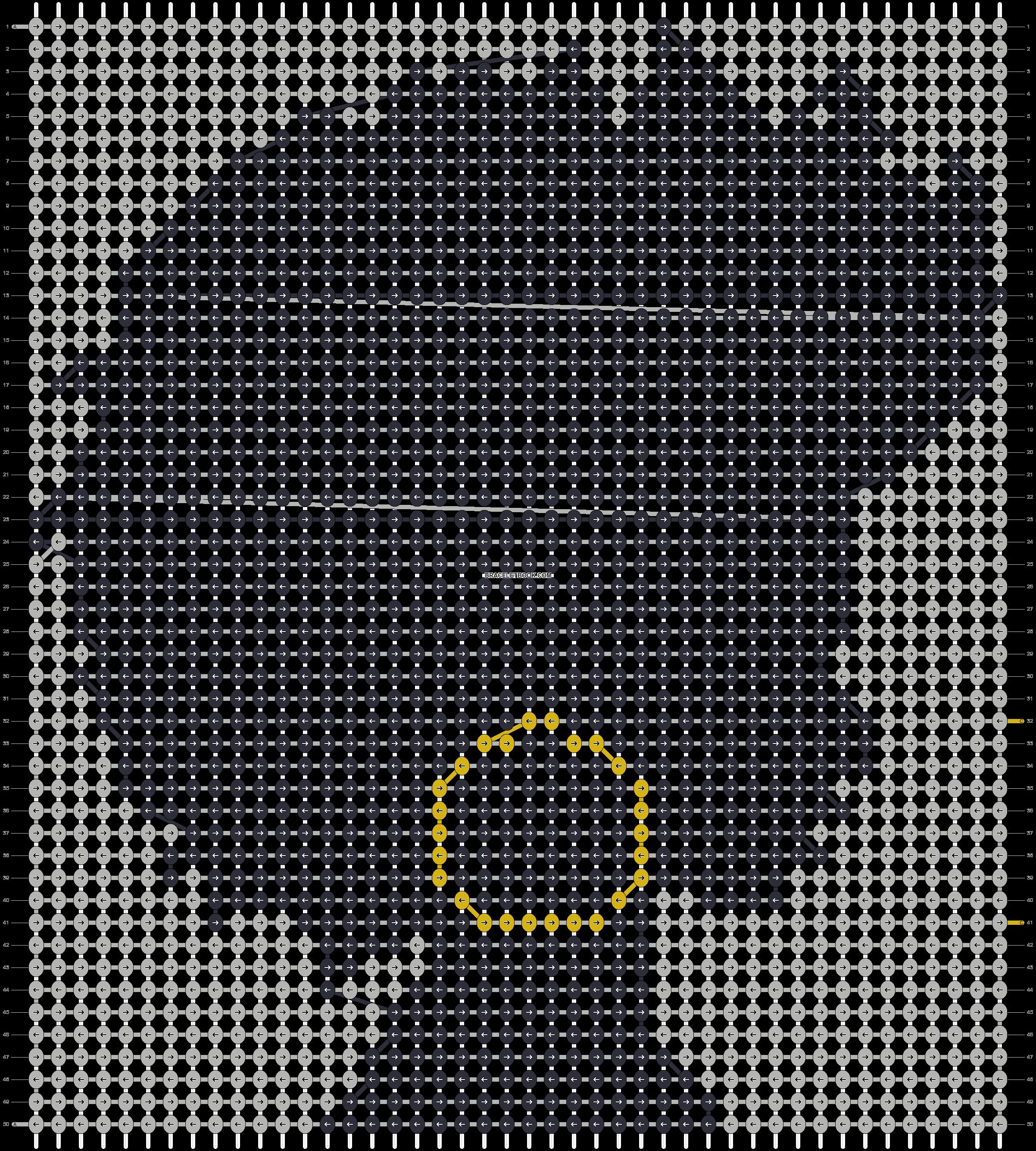 Alpha pattern #51174 pattern