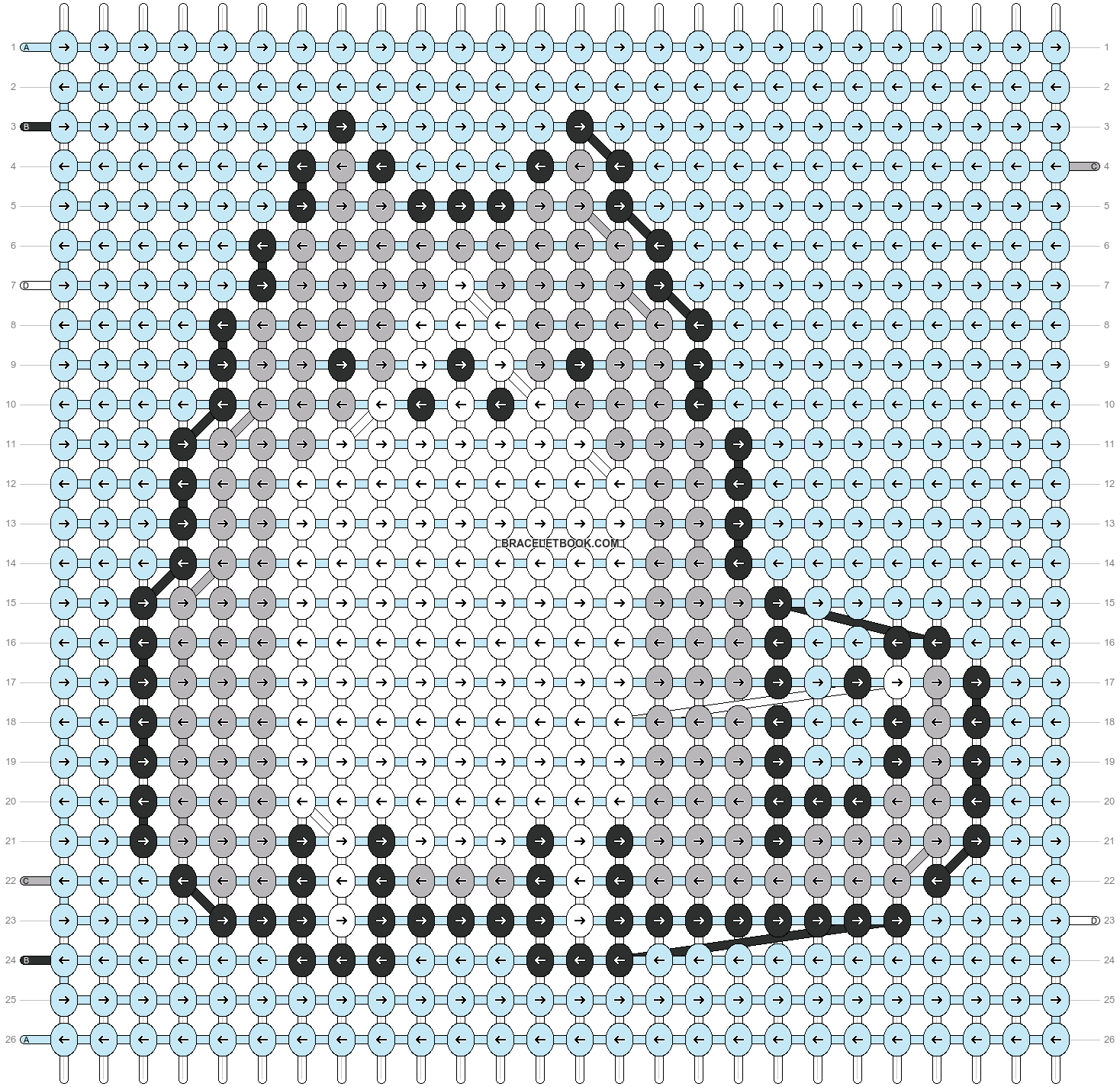 Alpha pattern #51197 pattern