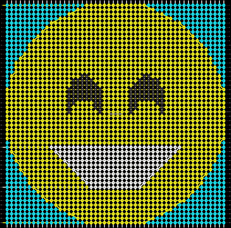 Alpha pattern #51206 pattern