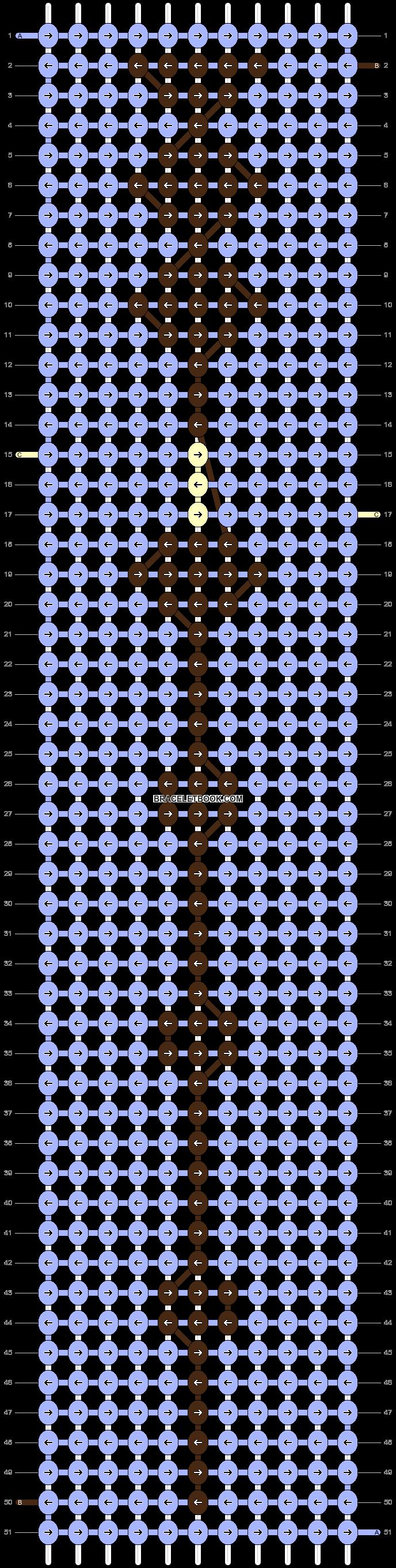 Alpha pattern #51228 pattern