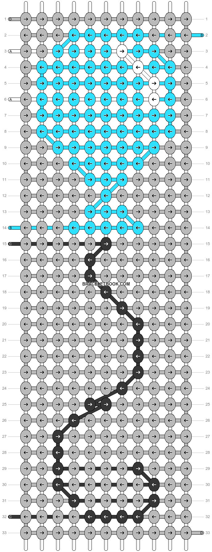 Alpha pattern #51230 pattern