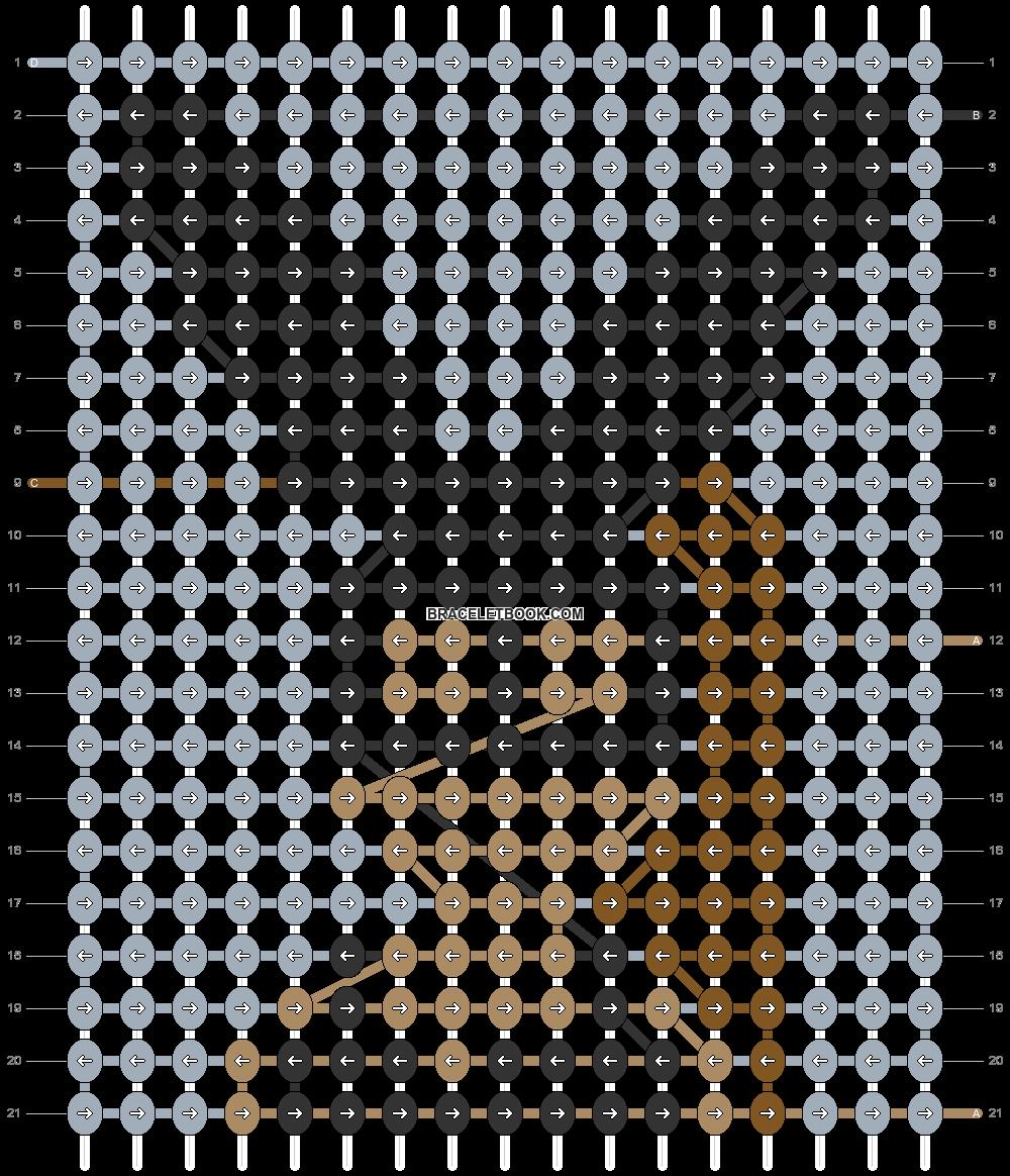 Alpha pattern #51231 pattern