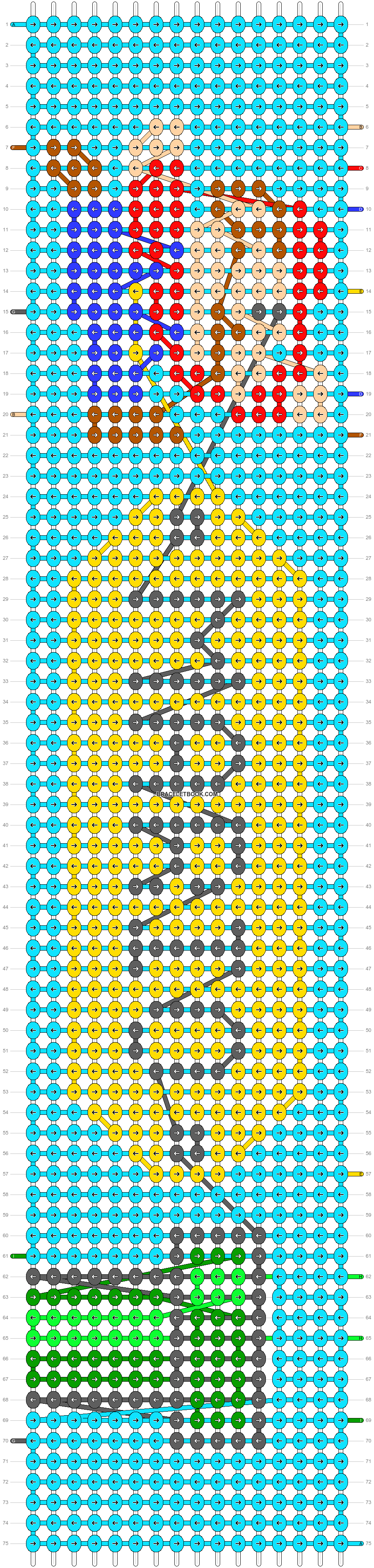 Alpha pattern #51240 pattern