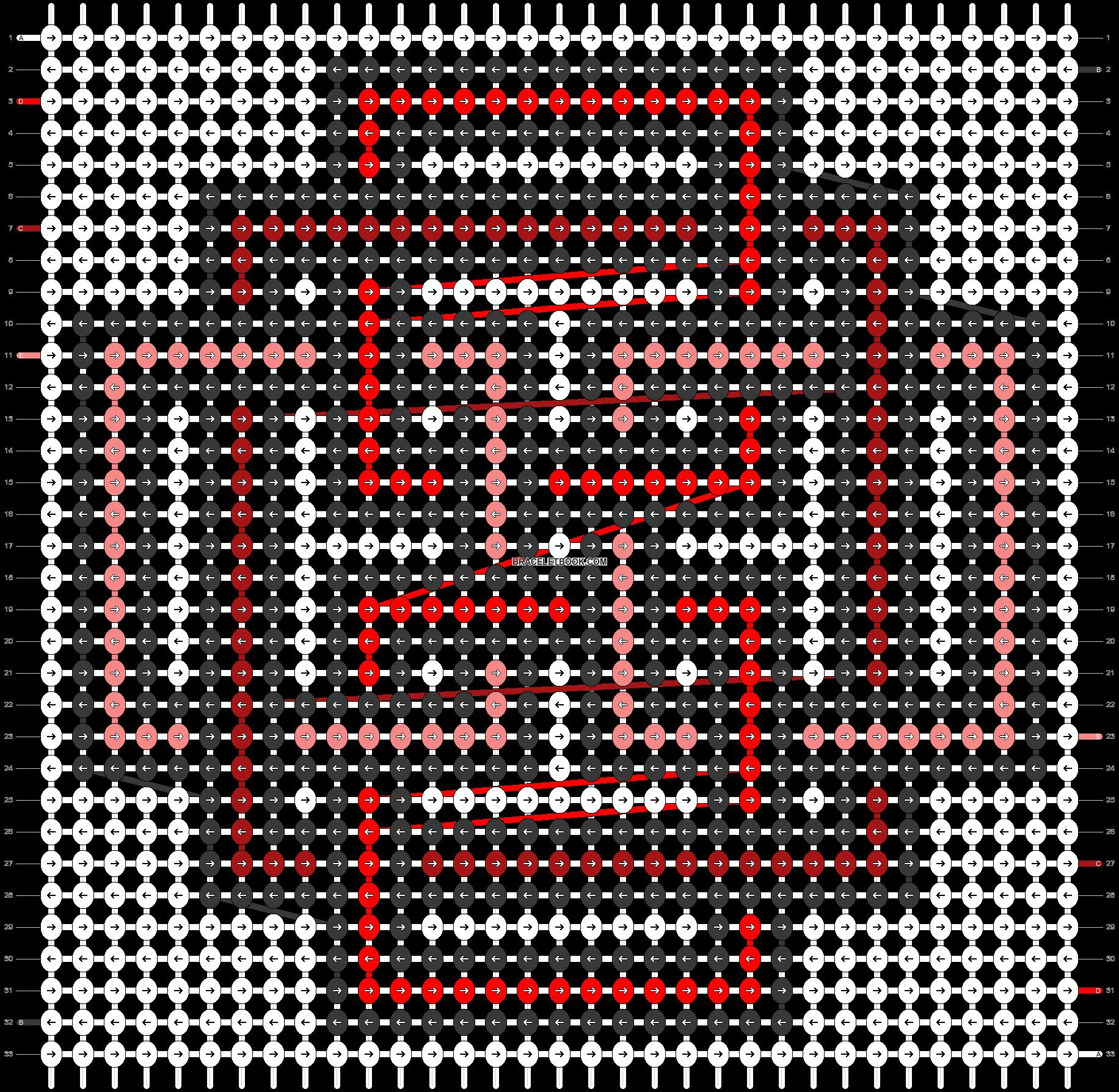 Alpha pattern #51242 pattern
