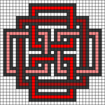Alpha pattern #51242