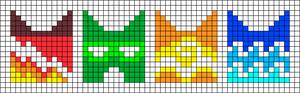 Alpha pattern #51286