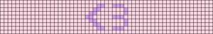 Alpha pattern #51299