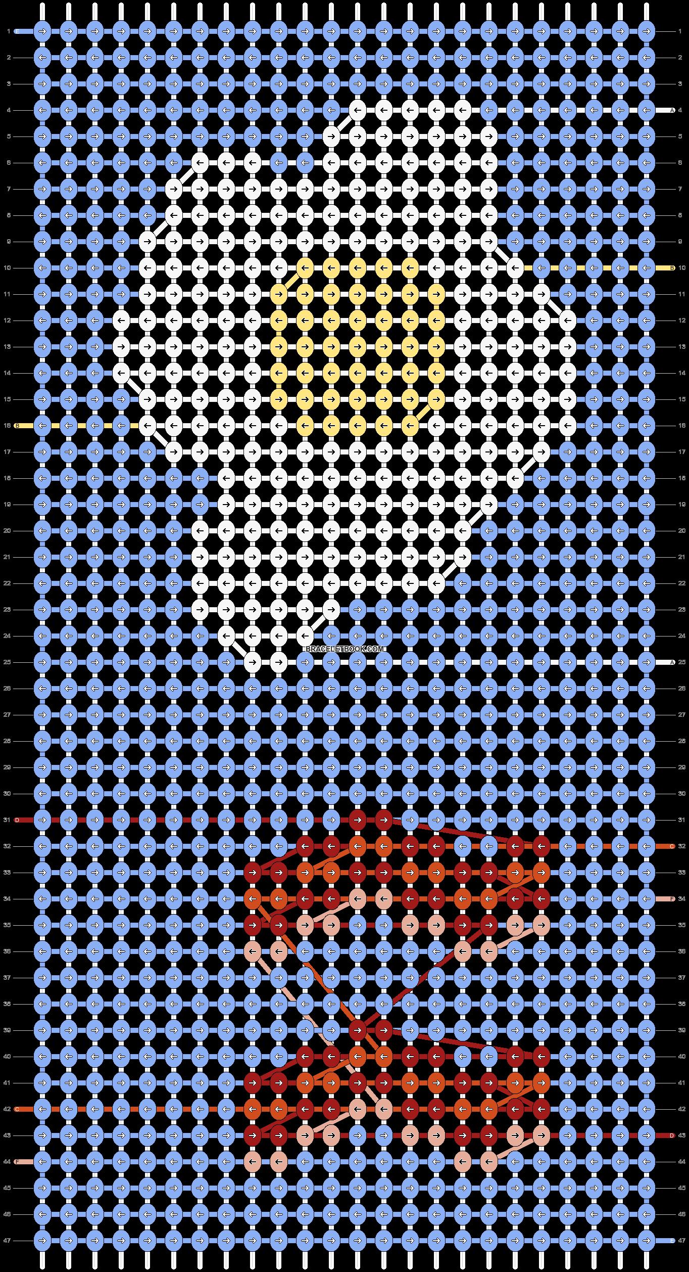 Alpha pattern #51305 pattern