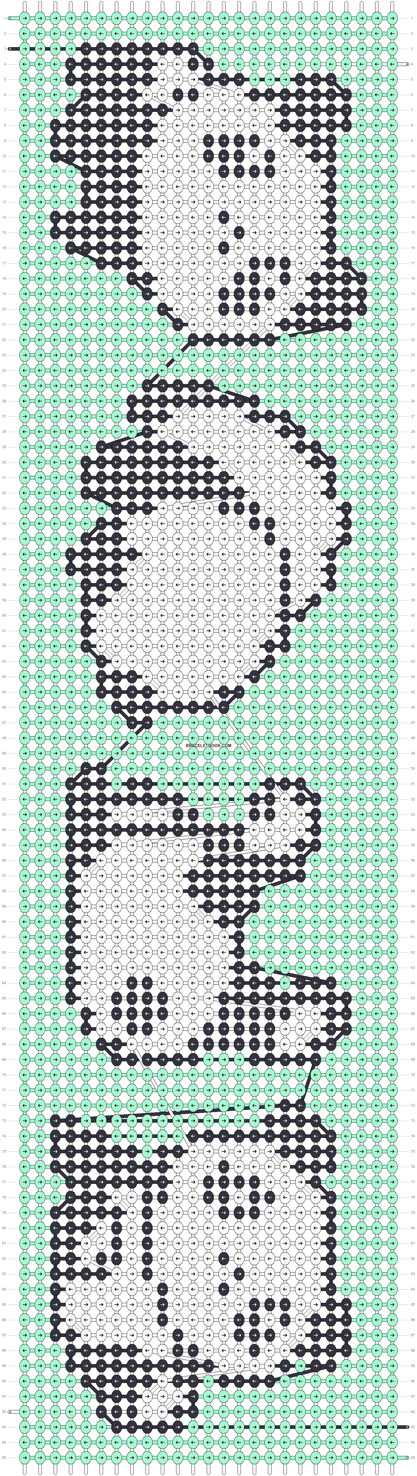 Alpha pattern #51356 pattern